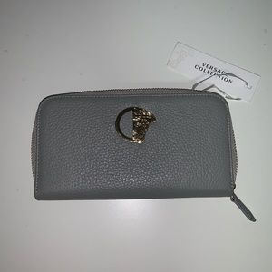Versace Collection gray wallet